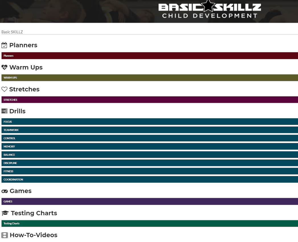 Drills Guide